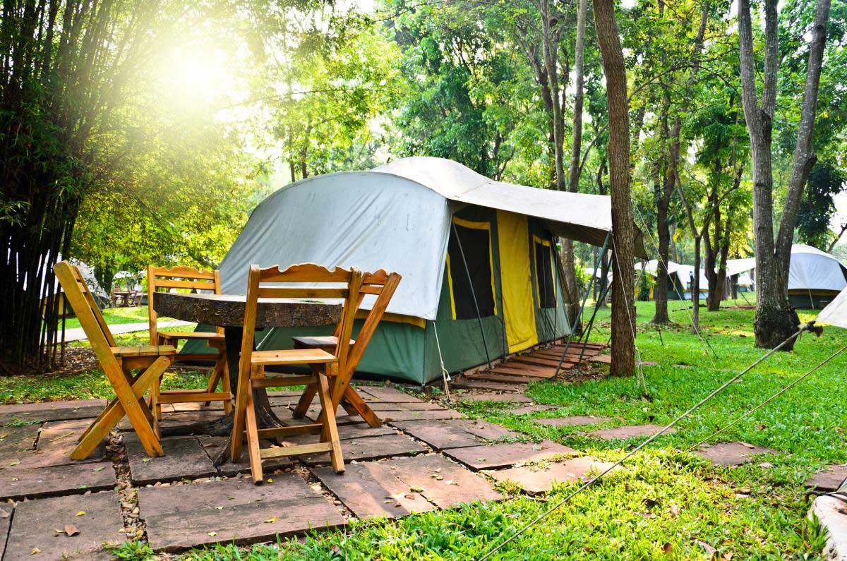 キャンプ場のイメージ画像