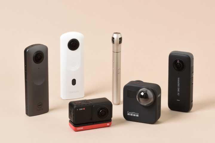 【2021最新】360度カメラおすすめ6選!実機比較で選び方がわかる