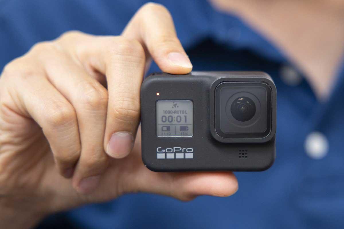 GoPro HERO8 Blackのサイズイメージ画像