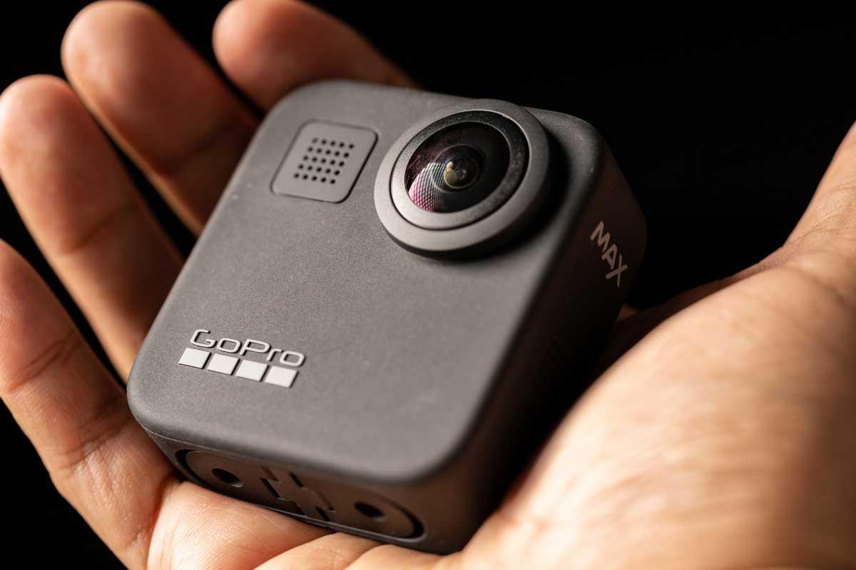 GoPro MAXのコンパクトな本体のイメージ画像