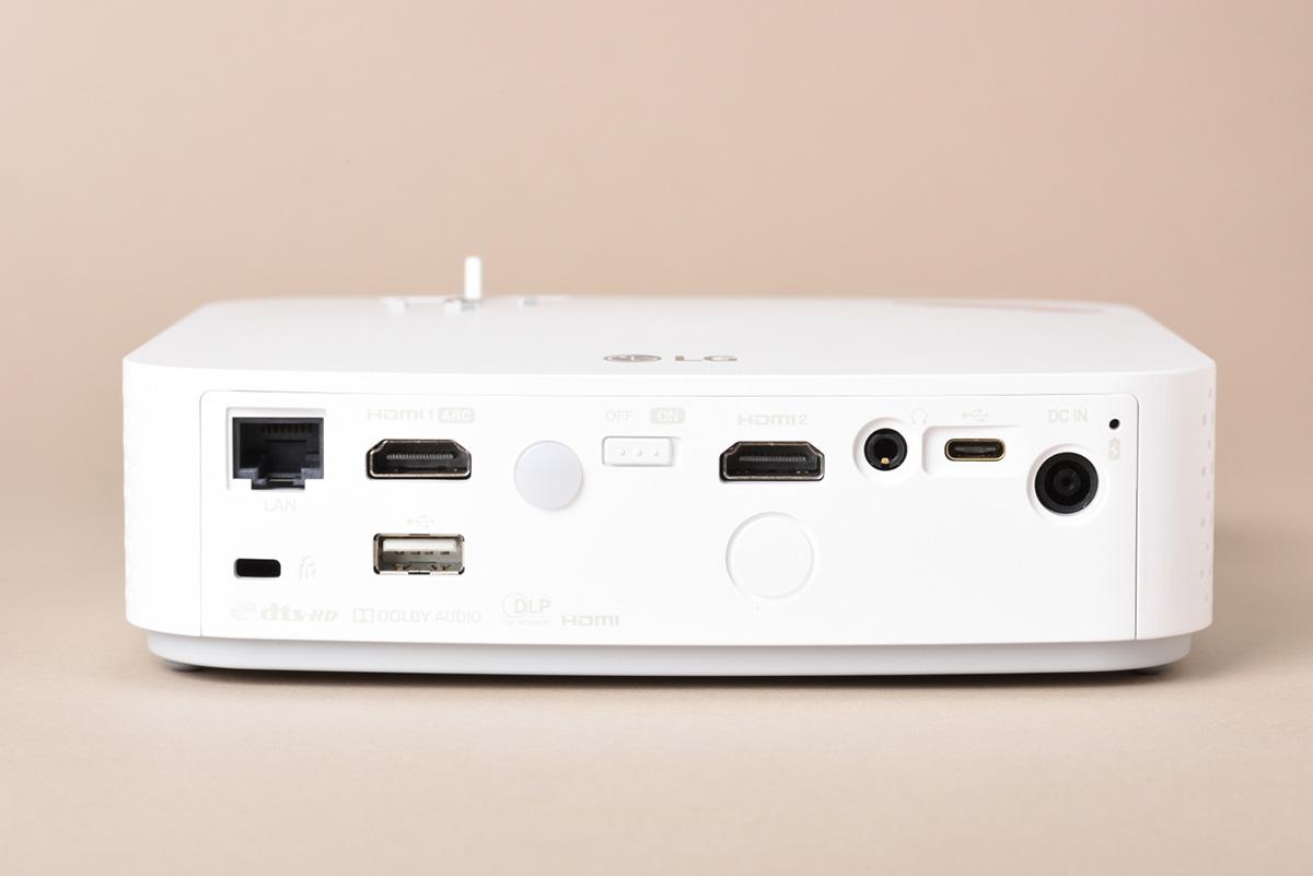 LGエレクトロニクス PF50KSの背面画像