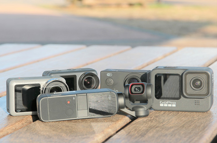 アクションカメラおすすめ5選【2021】初めてでも選び方や機種ごとの違いがわかる
