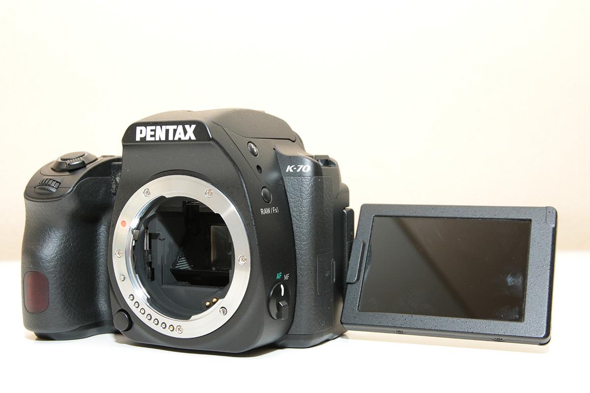 PENTAX K-70の背面モニター