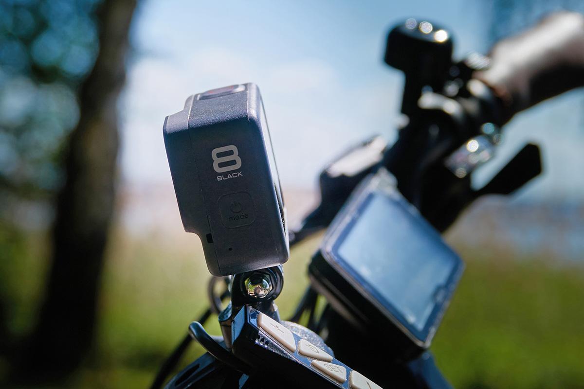 GoPro装着のイメージ画像
