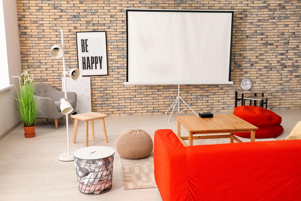 ホームシアターのある部屋のイメージ画像