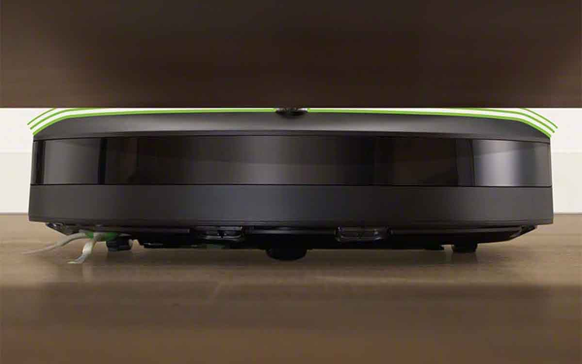 ルンバ i3のリアクティブセンサー