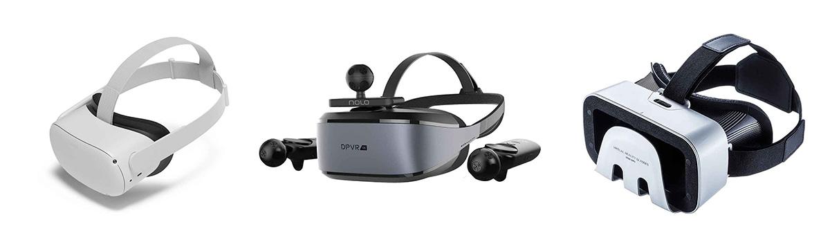 Facebook/Oculus Quest 2、DPVR/E3-4K Gaming Combo、サンワサプライ/MED-VRG1の製品画像