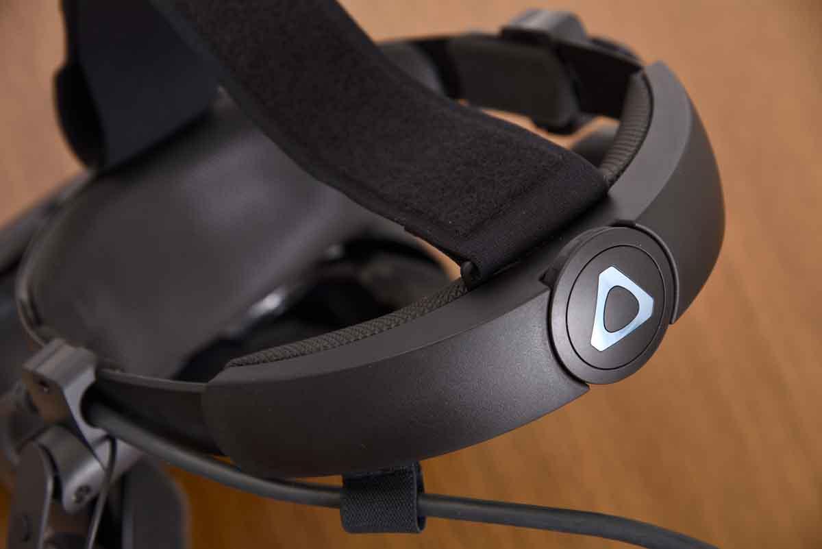 HTC/VIVE Cosmos Eliteの調整ダイヤル