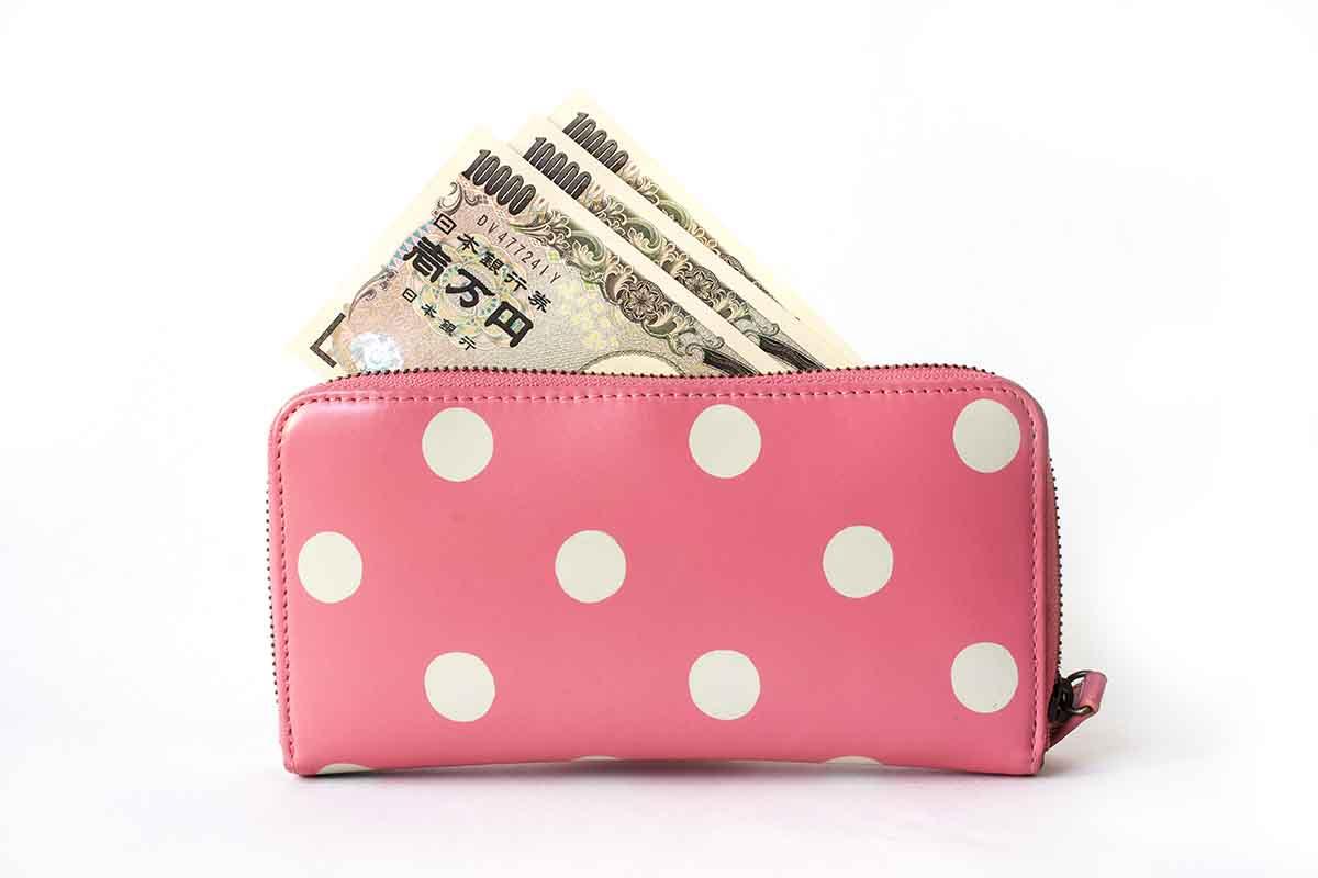 財布とお金のイメージ画像