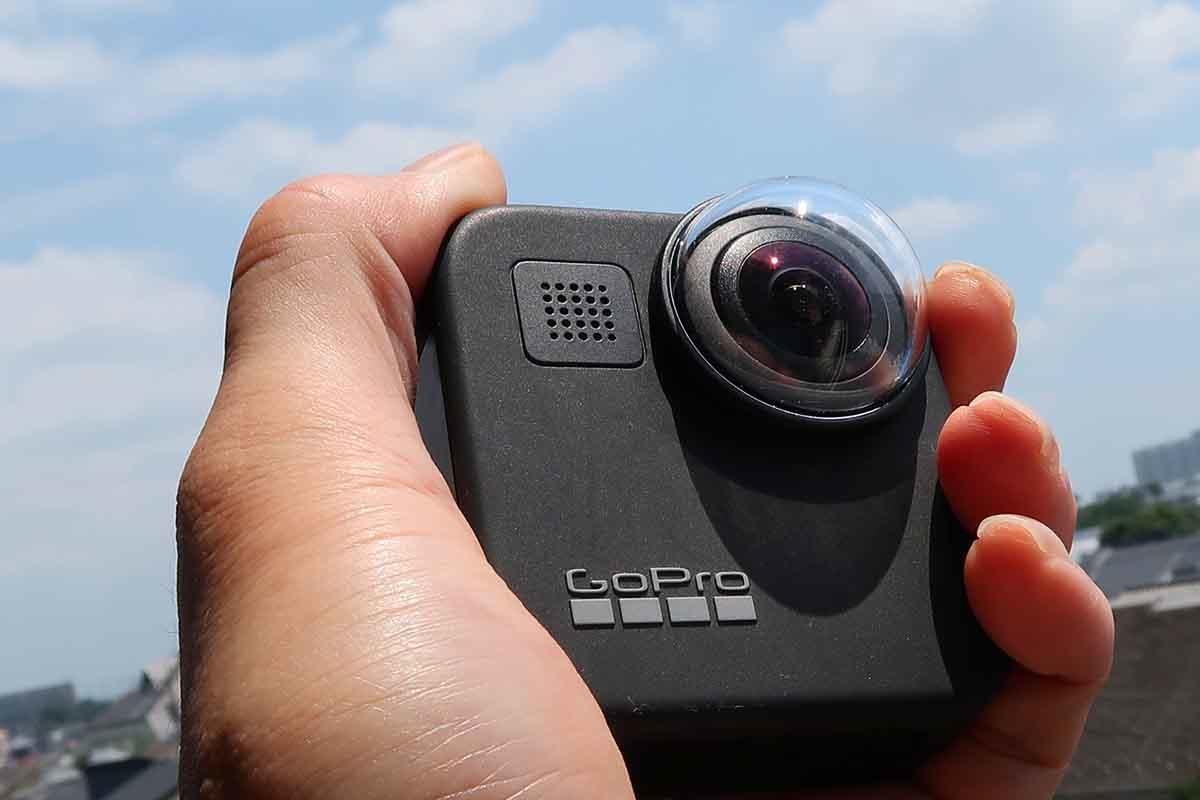 GoPro MAXの外観のイメージ