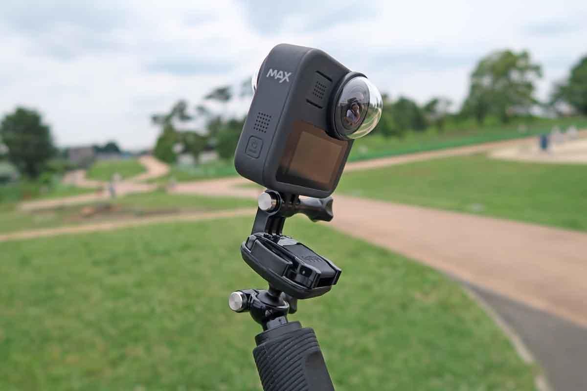 GoPro MAXで撮影しているイメージ