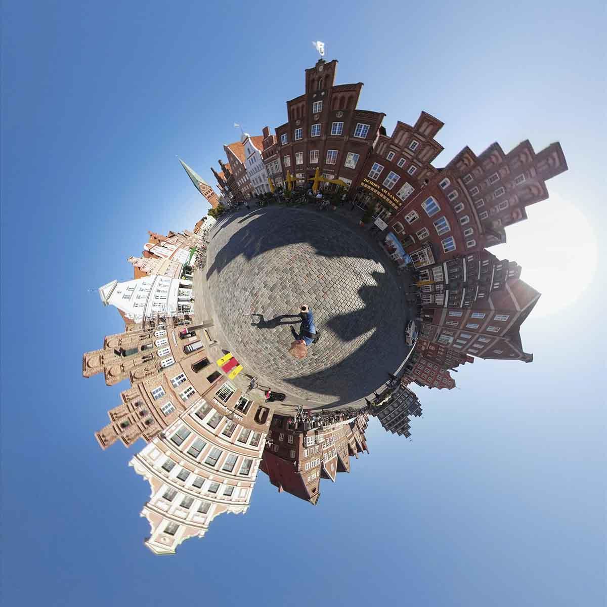 GoPro MAXで撮影した360度動画のイメージ