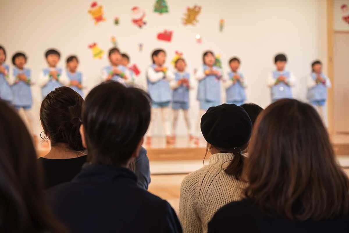 子どもの発表会の様子