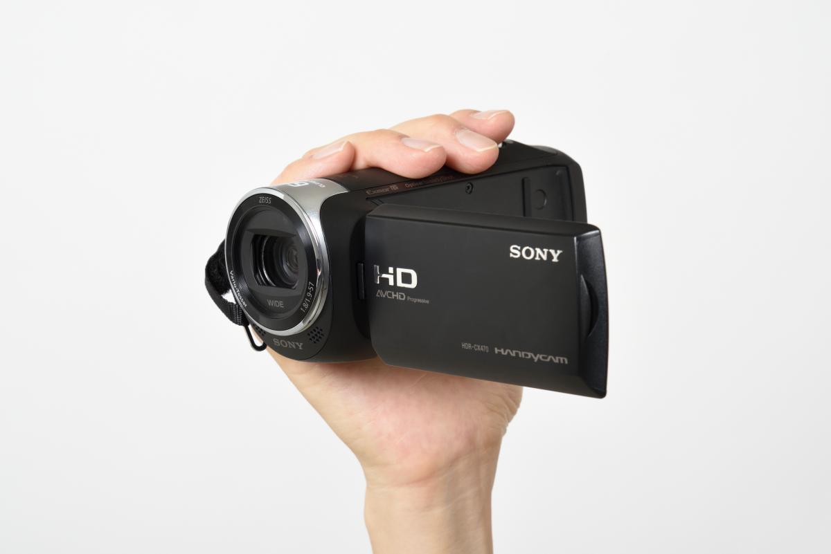 ソニー/デジタルHDビデオカメラレコーダーHDR-CX470製品画像