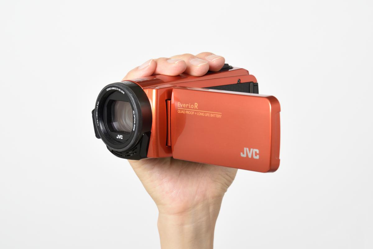 JVC/ハイビジョンメモリームービー Everio R GZ-RX680製品画像