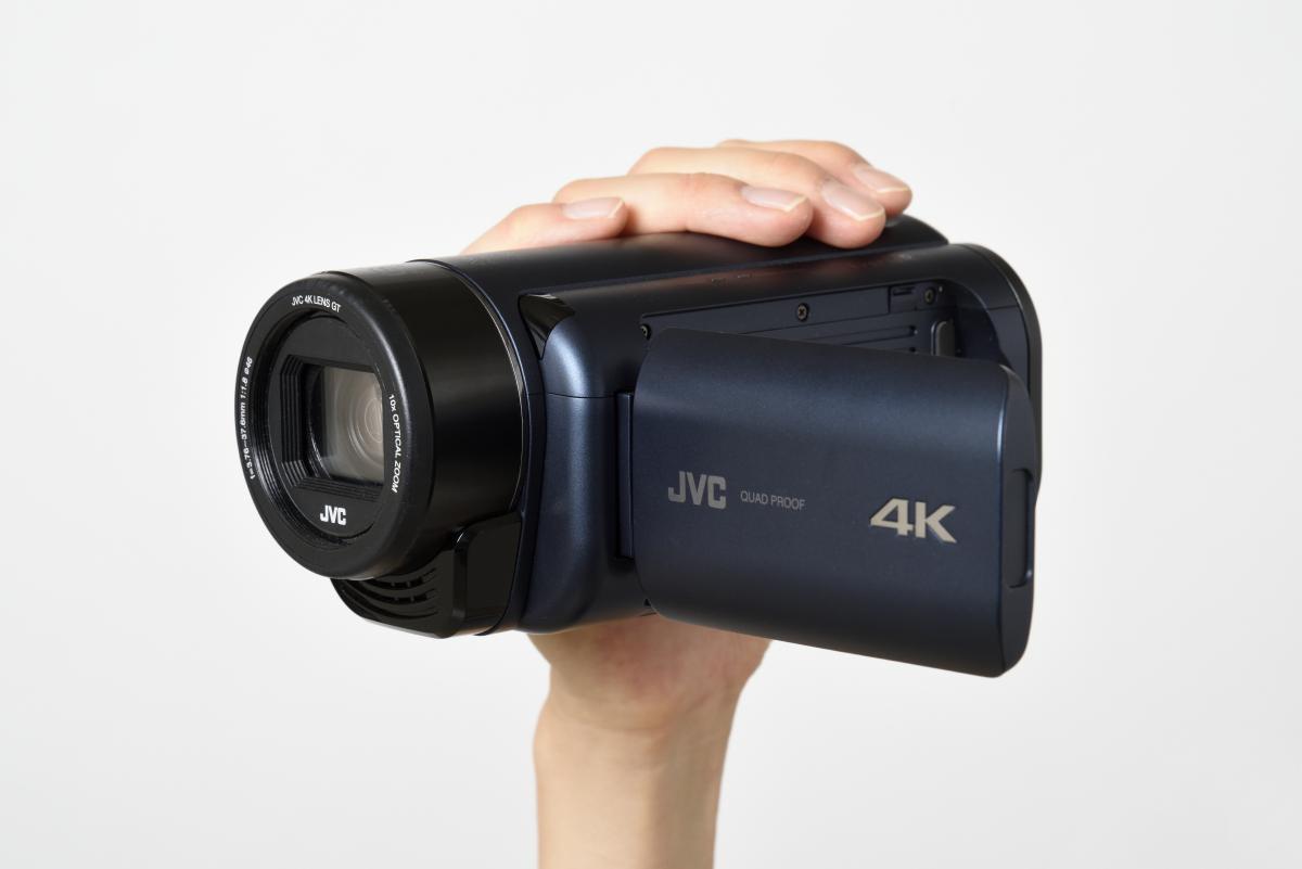 JVC/4Kメモリームービー Everio R GZ-RY980製品画像