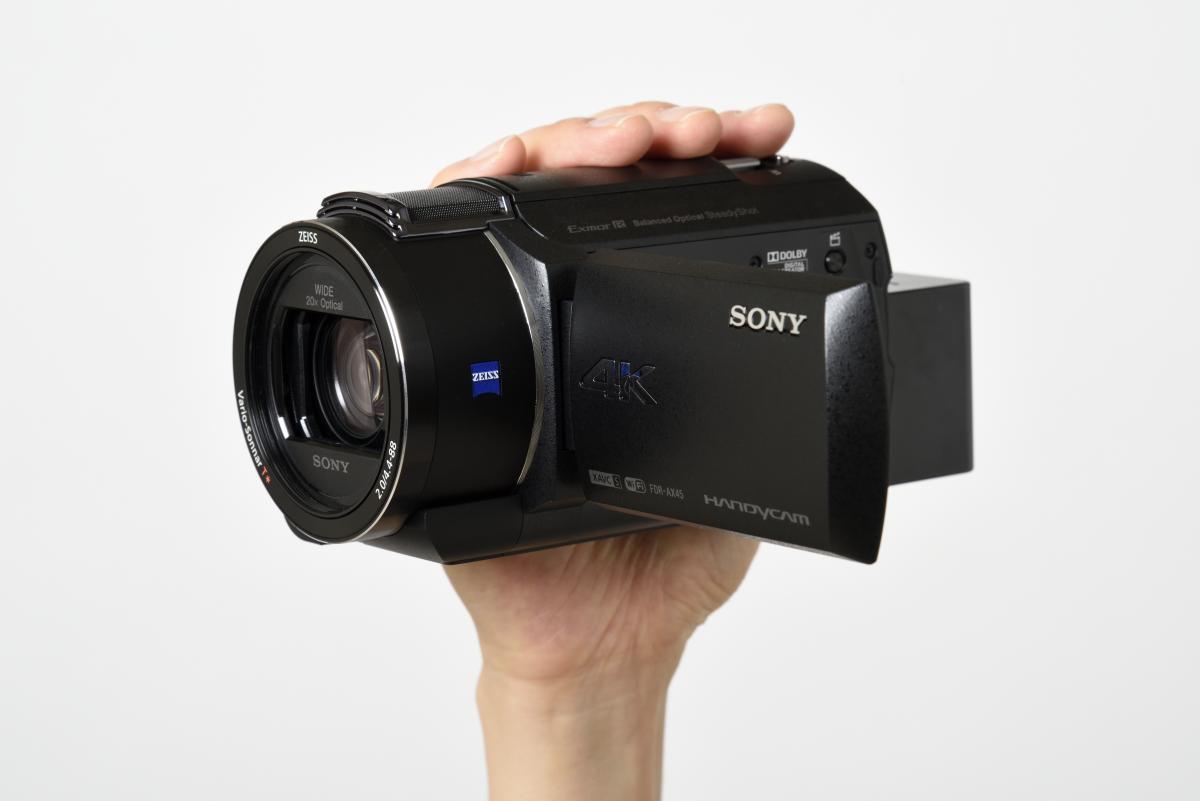 ソニー/4Kビデオカメラ FDR-AX45製品画像