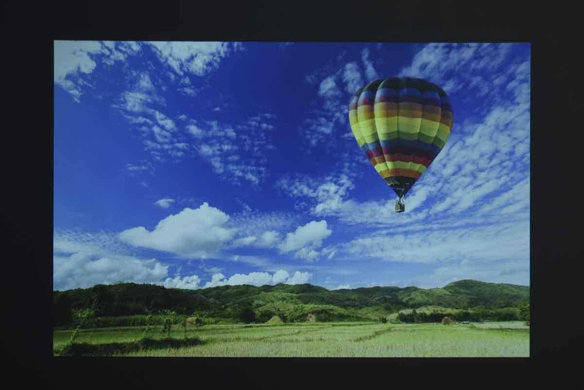 Nebula Astroのスクリーン投影画像