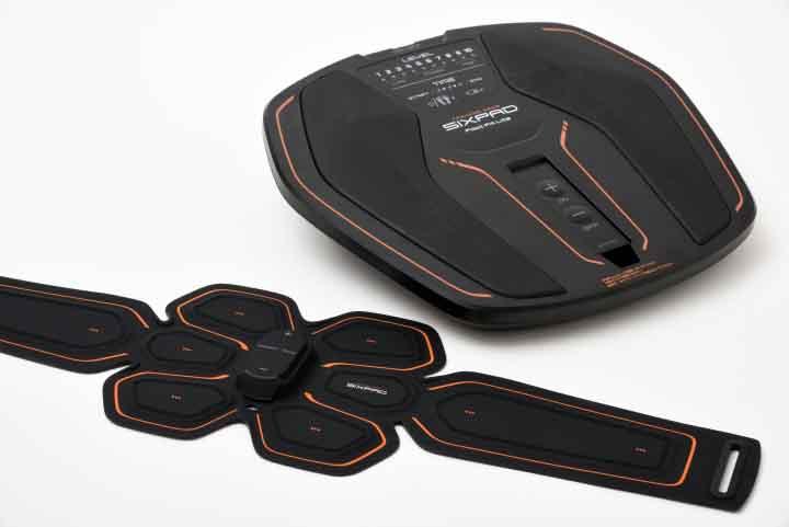 SIXPAD Abs Belt とSIXPAD Foot Fit Liteの集合画像