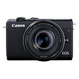 Canon ミラーレスカメラ EOS M200 ダブルズームキット ブラック