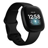 Fitbit Versa3 GPS搭載 スマートウォッチスマートウォッチ ブラック