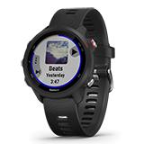 Garmin GPSランニングウォッチ ForeAthlete245 music ブラック