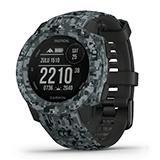 Garmin GPSランニングウォッチ Instinct Tactical Camo グラファイト