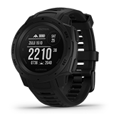 Garmin Instinct Dual Power Tactical Edition ブラック