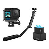 GoPro HERO10 Black アクションカメラ アクセサリーセット(3-way2.0他付属)